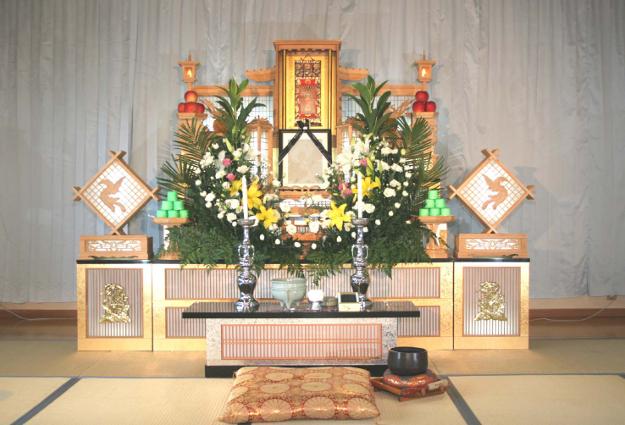 葬儀プランB祭壇