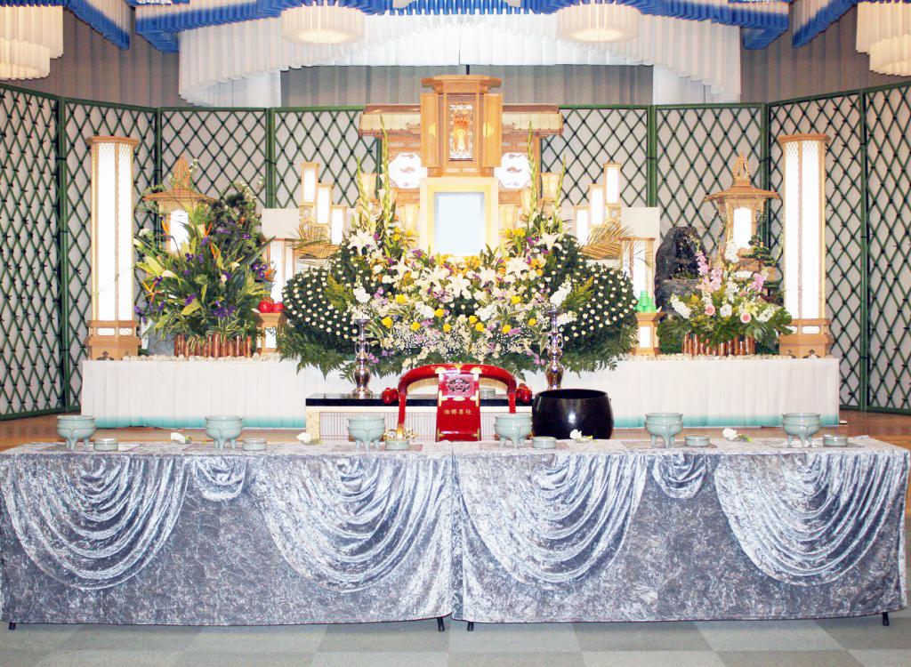 葬儀プランE祭壇