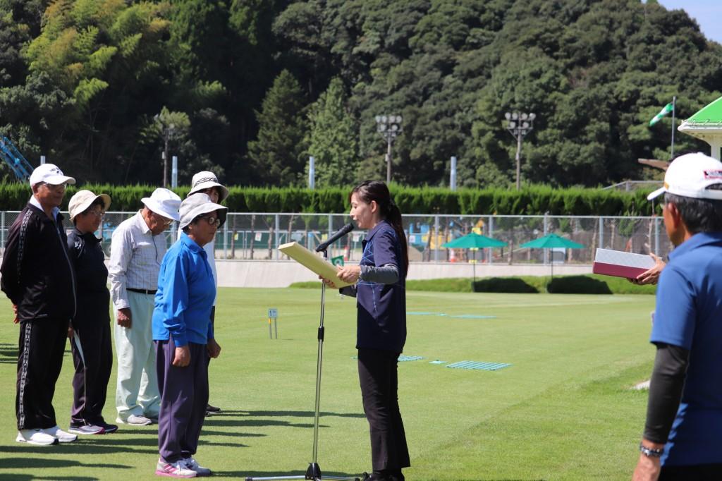 東郷4町グラウンドゴルフ大会H30-09-04