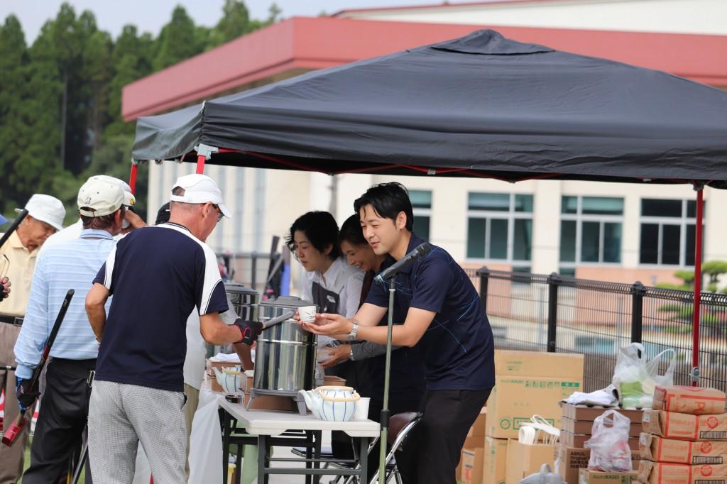 東郷4町グラウンドゴルフ大会H30-09-03