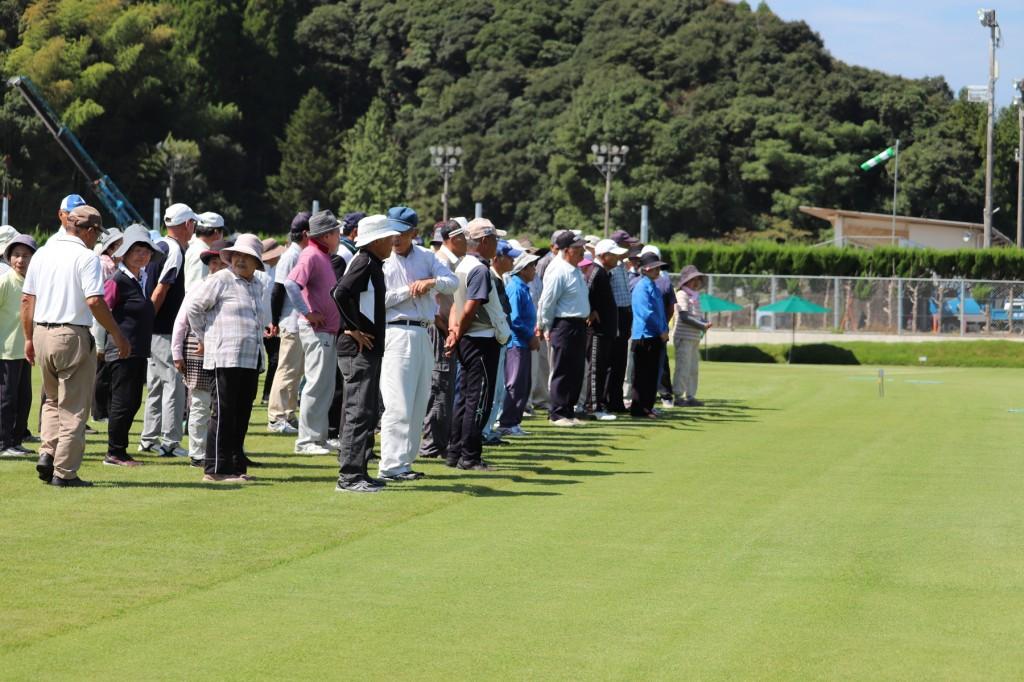 東郷4町グラウンドゴルフ大会H30-09-06