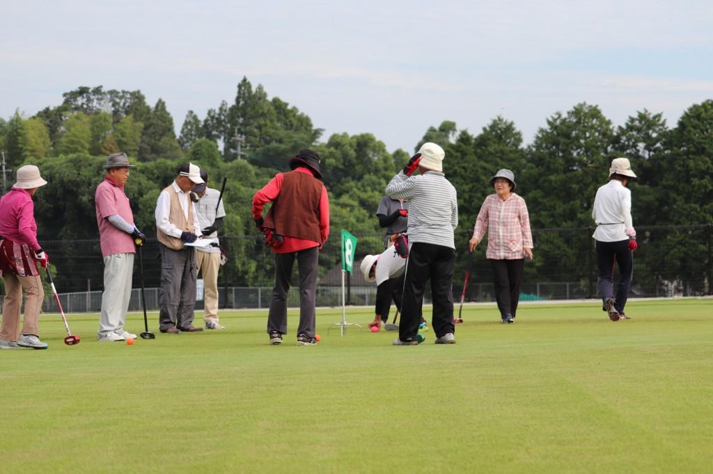 東郷4町グラウンドゴルフ大会H30-09-02
