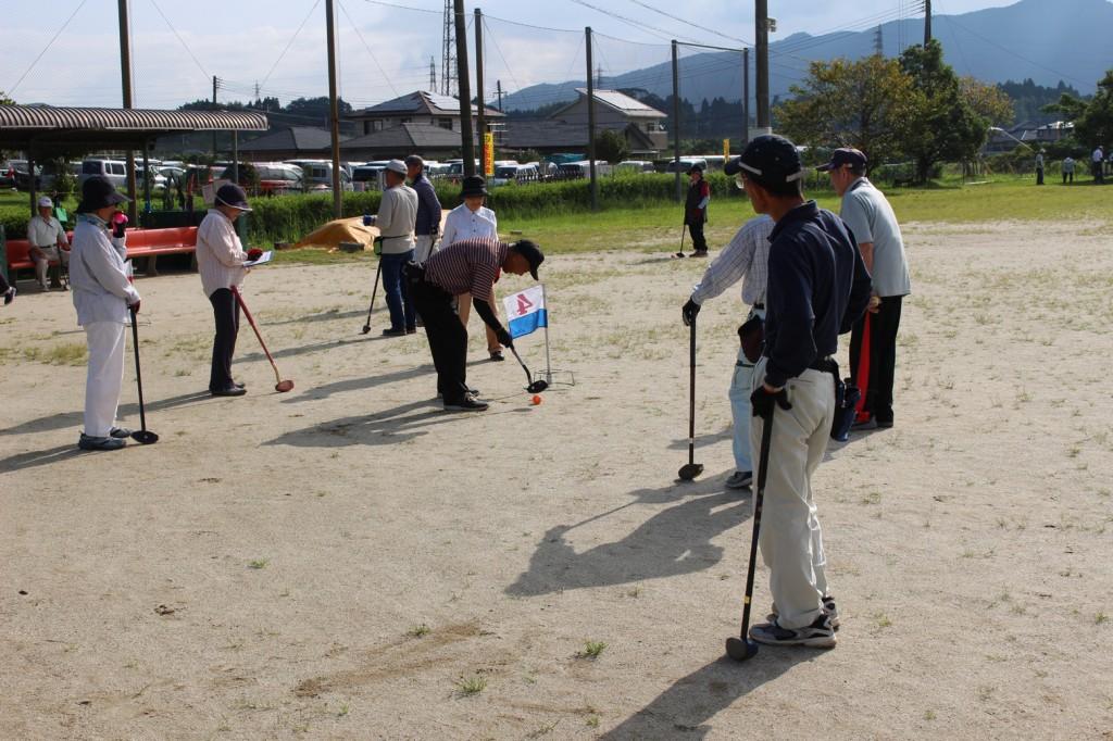 隈之城グラウンドゴルフ大会H30-09-03
