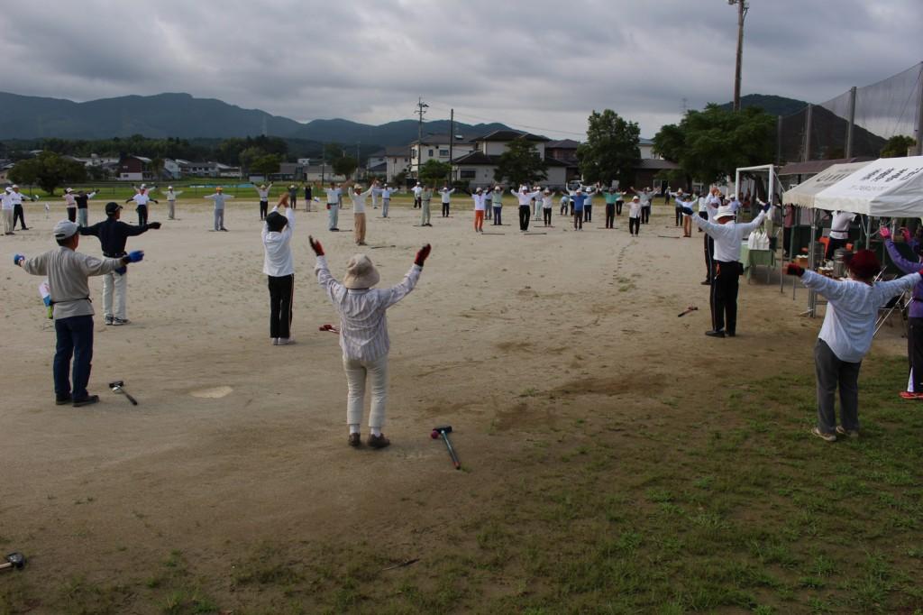 隈之城グラウンドゴルフ大会H30-09-01