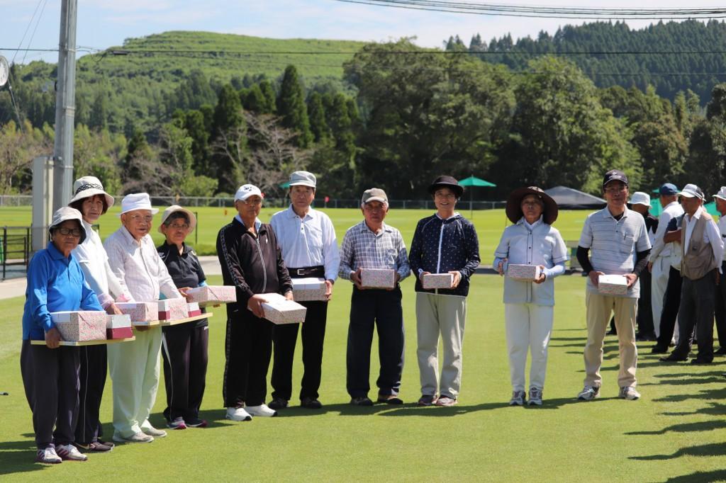 東郷4町グラウンドゴルフ大会H30-09-05