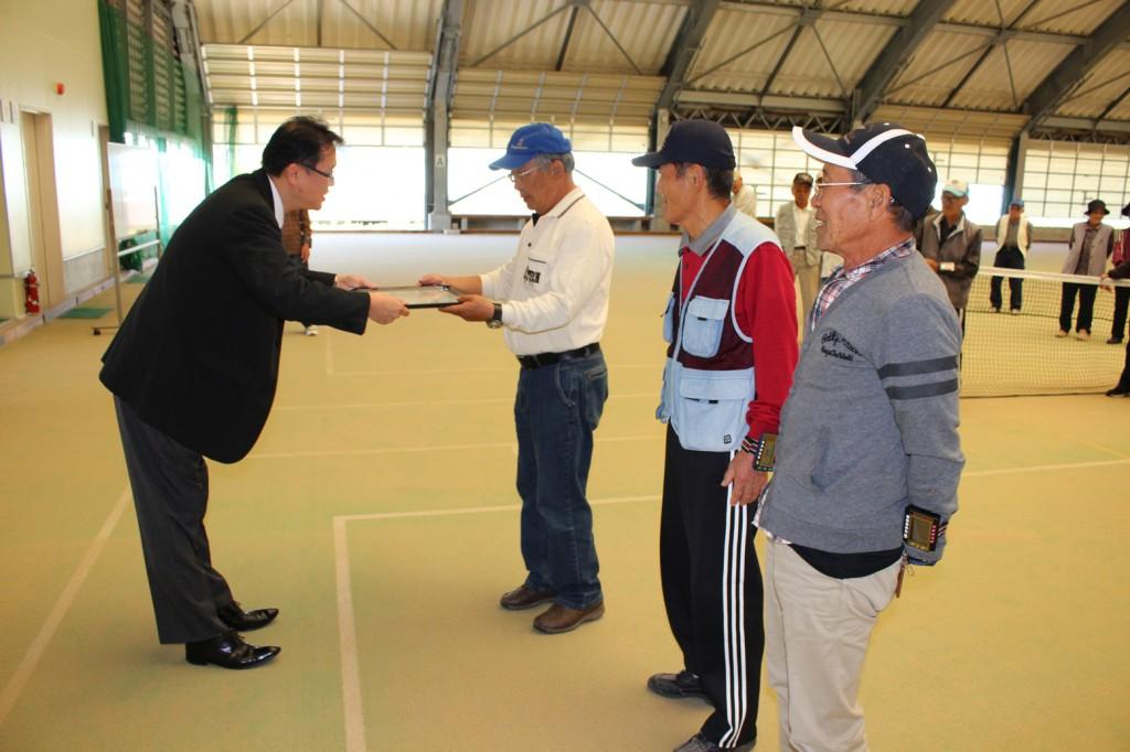 H30-10-13-互助会員ゲートボール大会-第3位チーム
