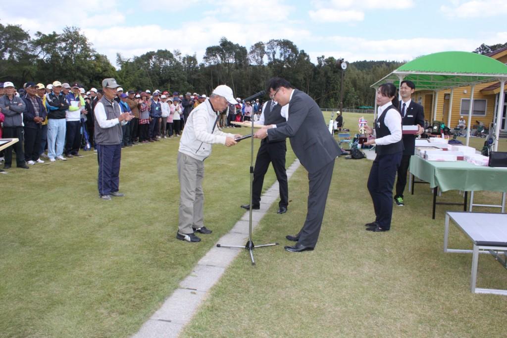 H30-10-28-博善社互助会員グラウンドゴルフ大会-準優勝
