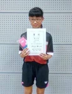 女子シングルC優勝